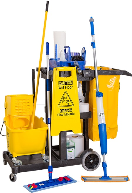 Commercial Products - Cleaning Carts