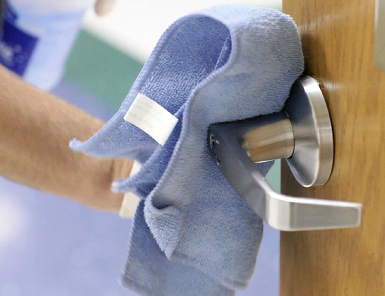 Clean Doorknobs