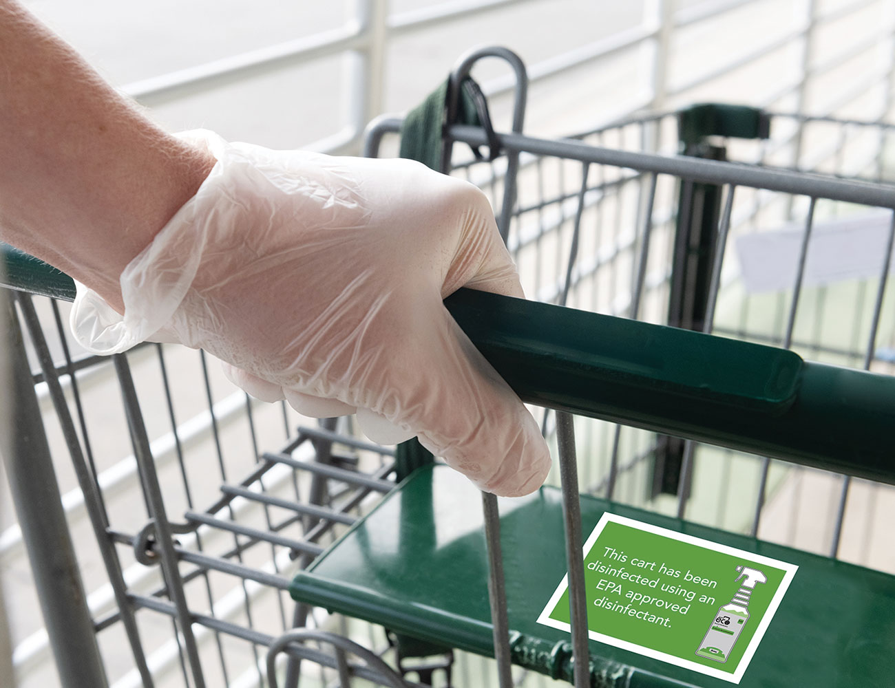 Sanitize Shopping Carts